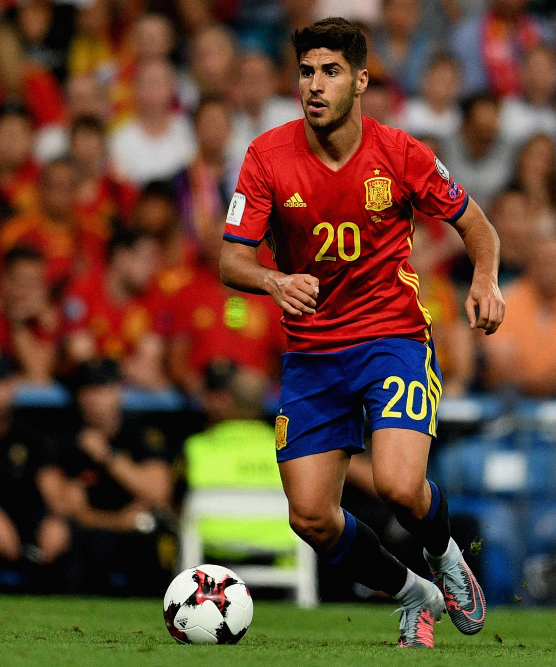 Asensio made his Spain debut last year and has won fourcaps