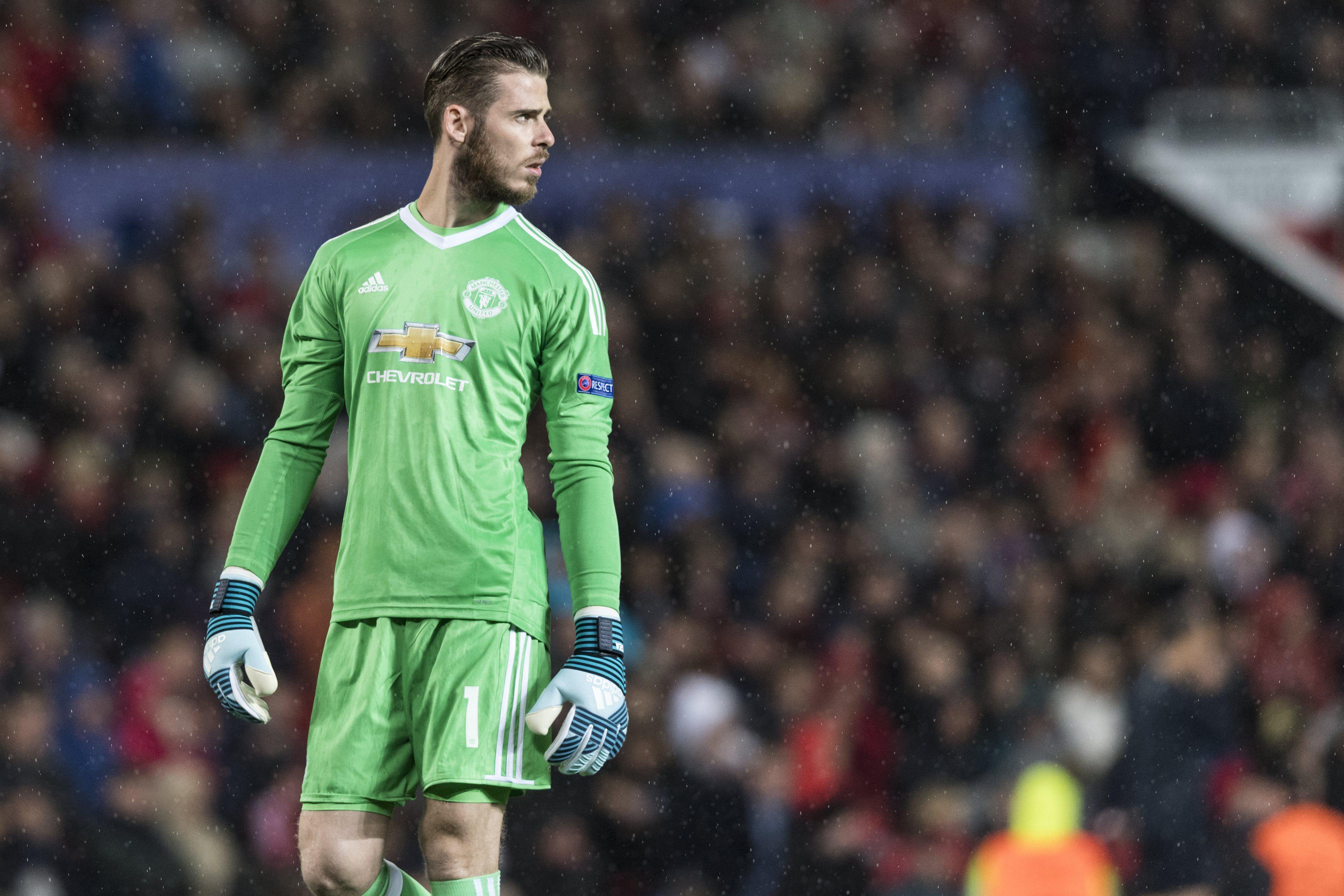Madrid's interest in De Gea has cooled
