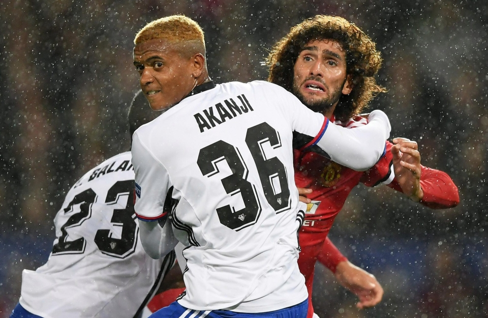 Marouane Fellaini and co. easily swatted Basel aside in the first round of fixtures