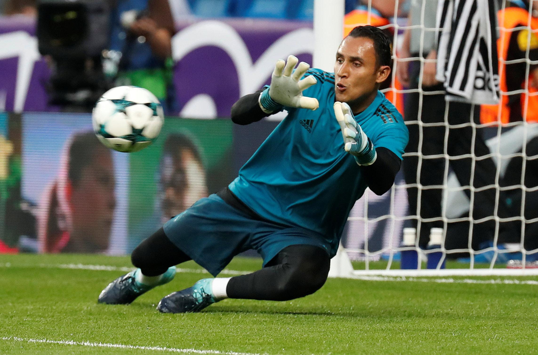 Navas is under a lot of pressure at Madrid