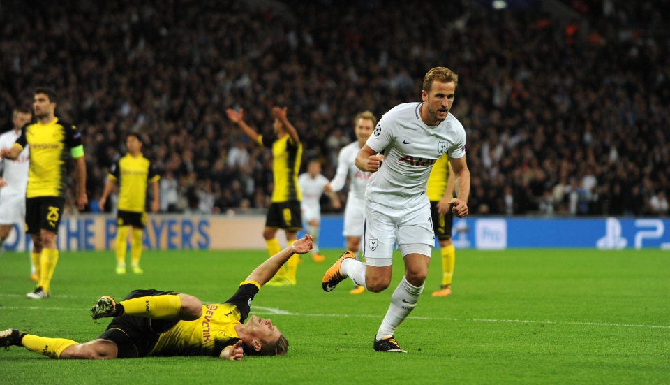 Harry Kane scored twice to give Spurs all three points