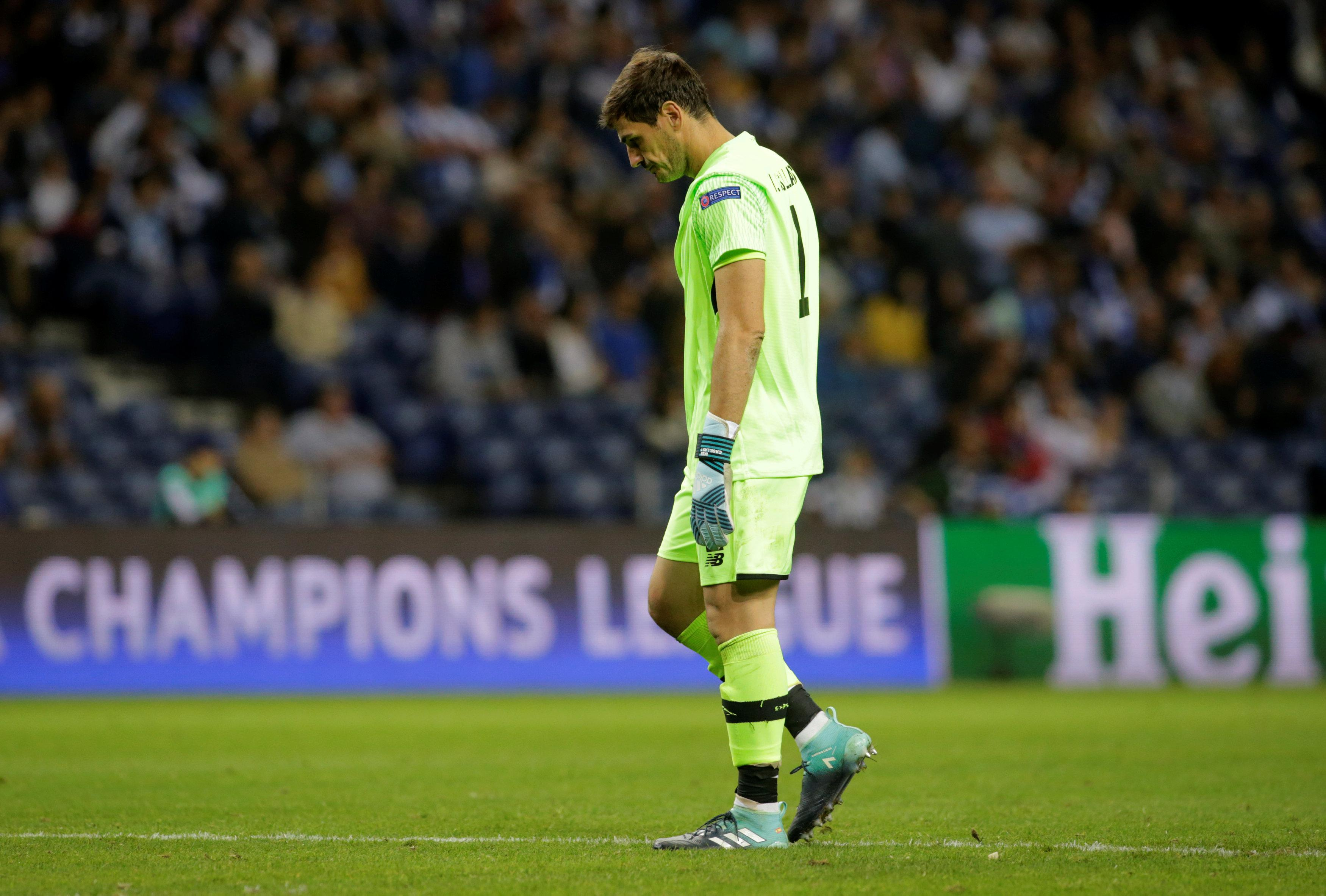 Casillas had a night to forget