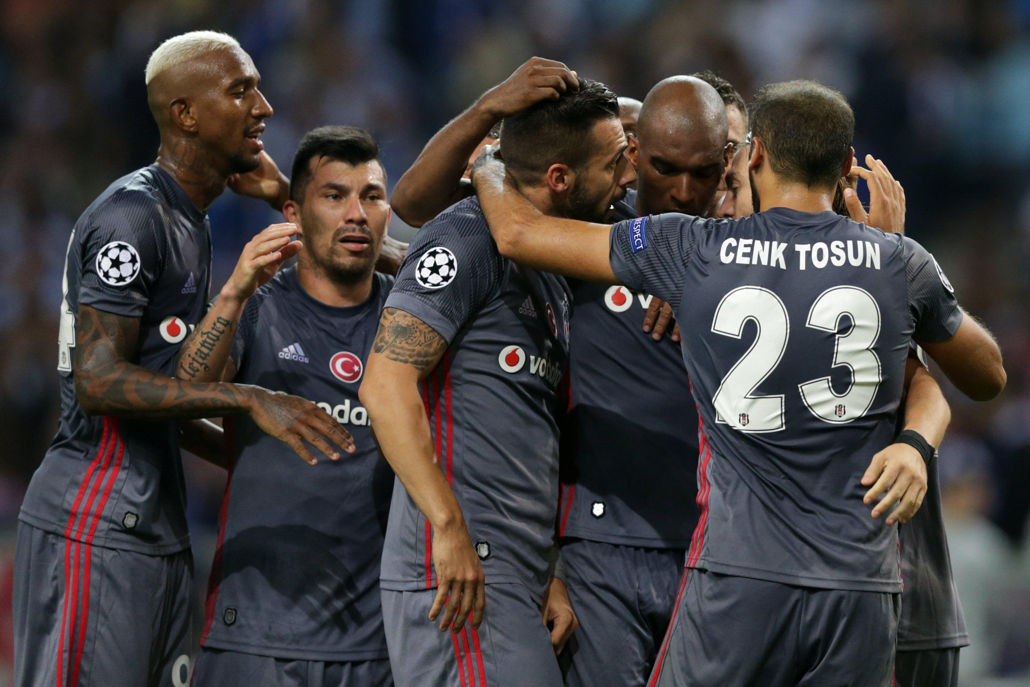 Besiktas earned a rare away victory in European competition