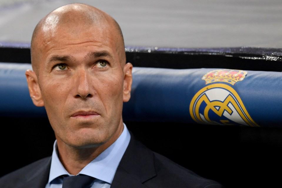 Zidane's side have struggled this season