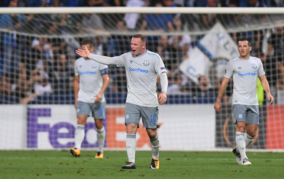 A nightmare return to Europe for Everton