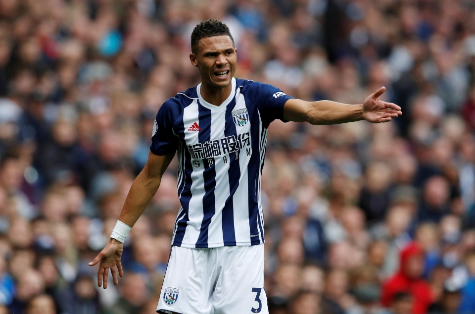 Gibbs has started the Baggies last two matches
