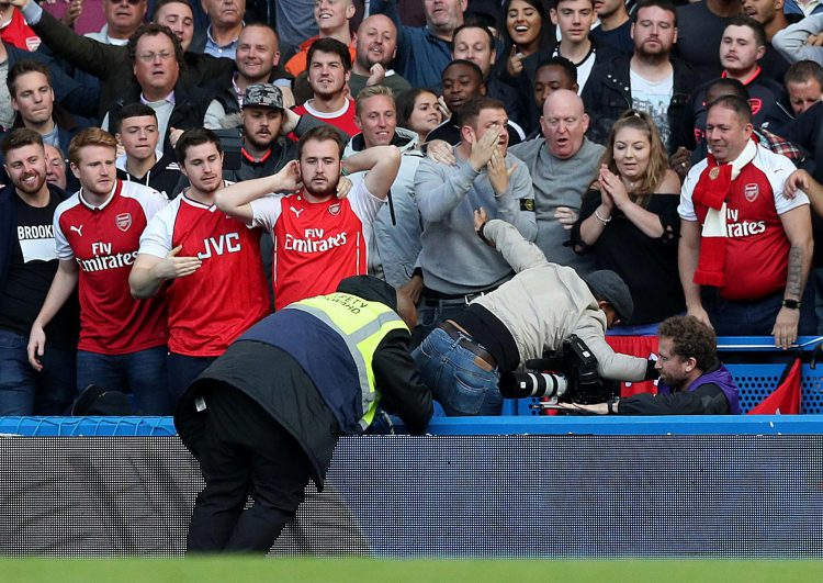Arsenal fans when they realise they'll be missing out on Christmas dinner