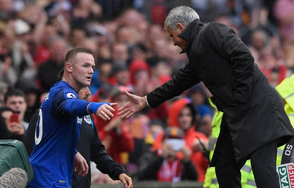 United fans chanted Rooney's name