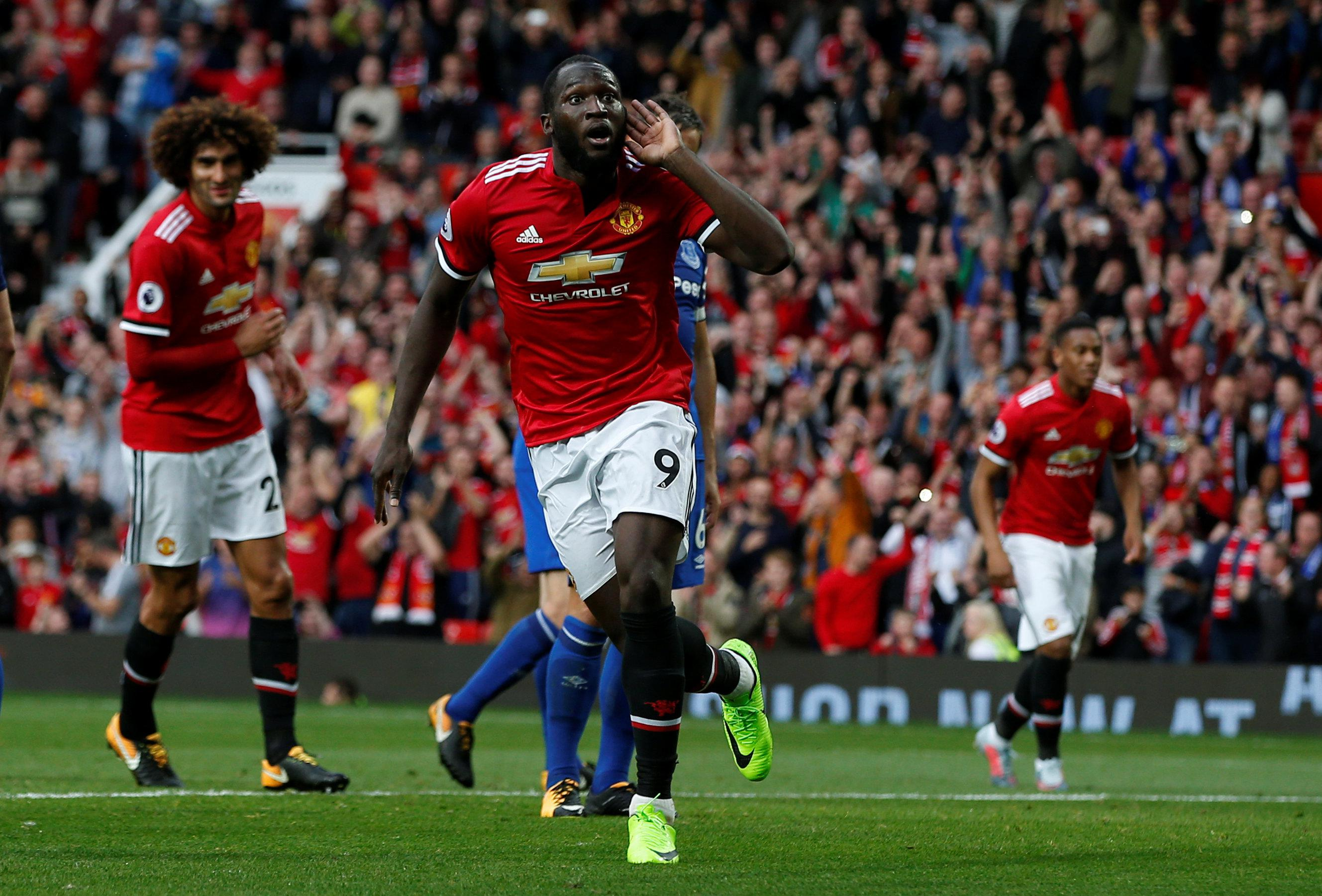 Lukaku cashed in as Everton tired at Old Trafford