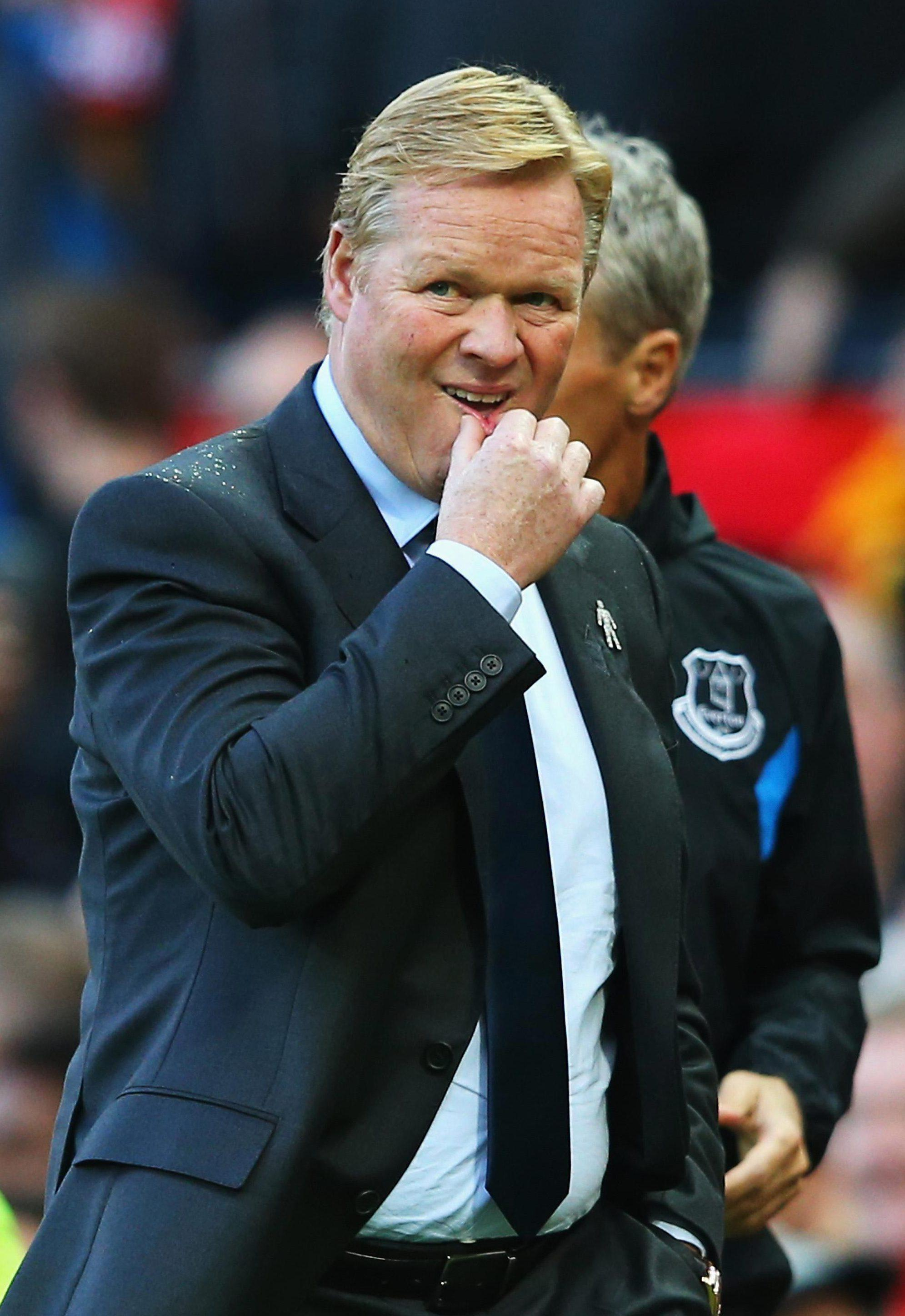 Ronald Koeman will be hoping to pick up points from an easier run of fixtures