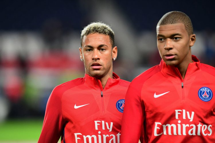 Maybe Mbappe will start taking tips from Neymar when it comes to hair