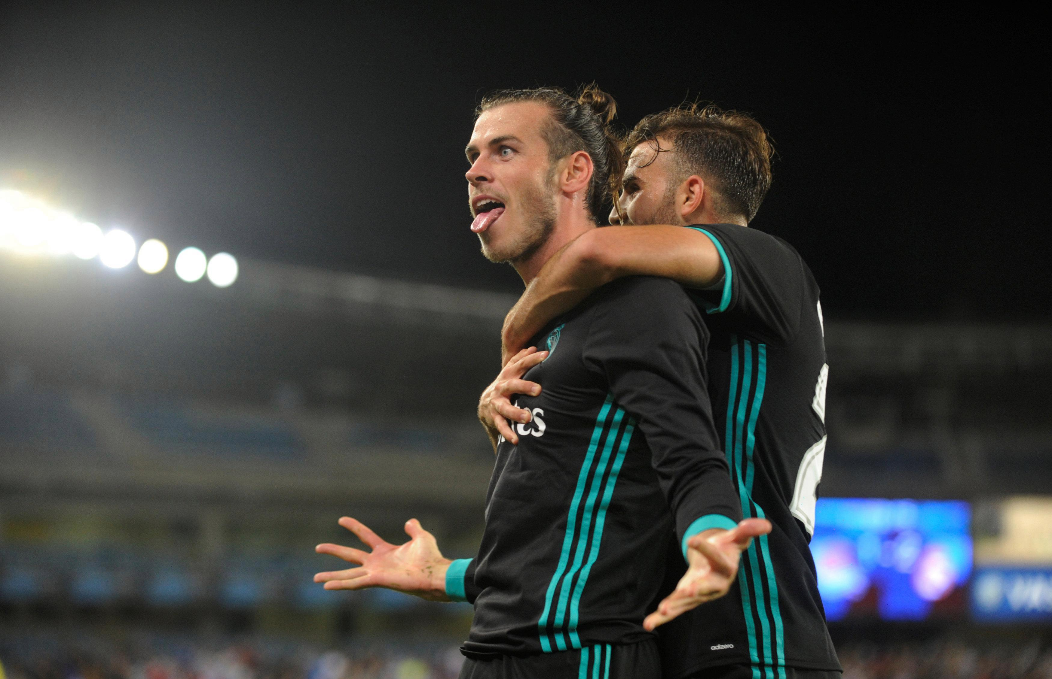 Bale broke a La Liga record in the process