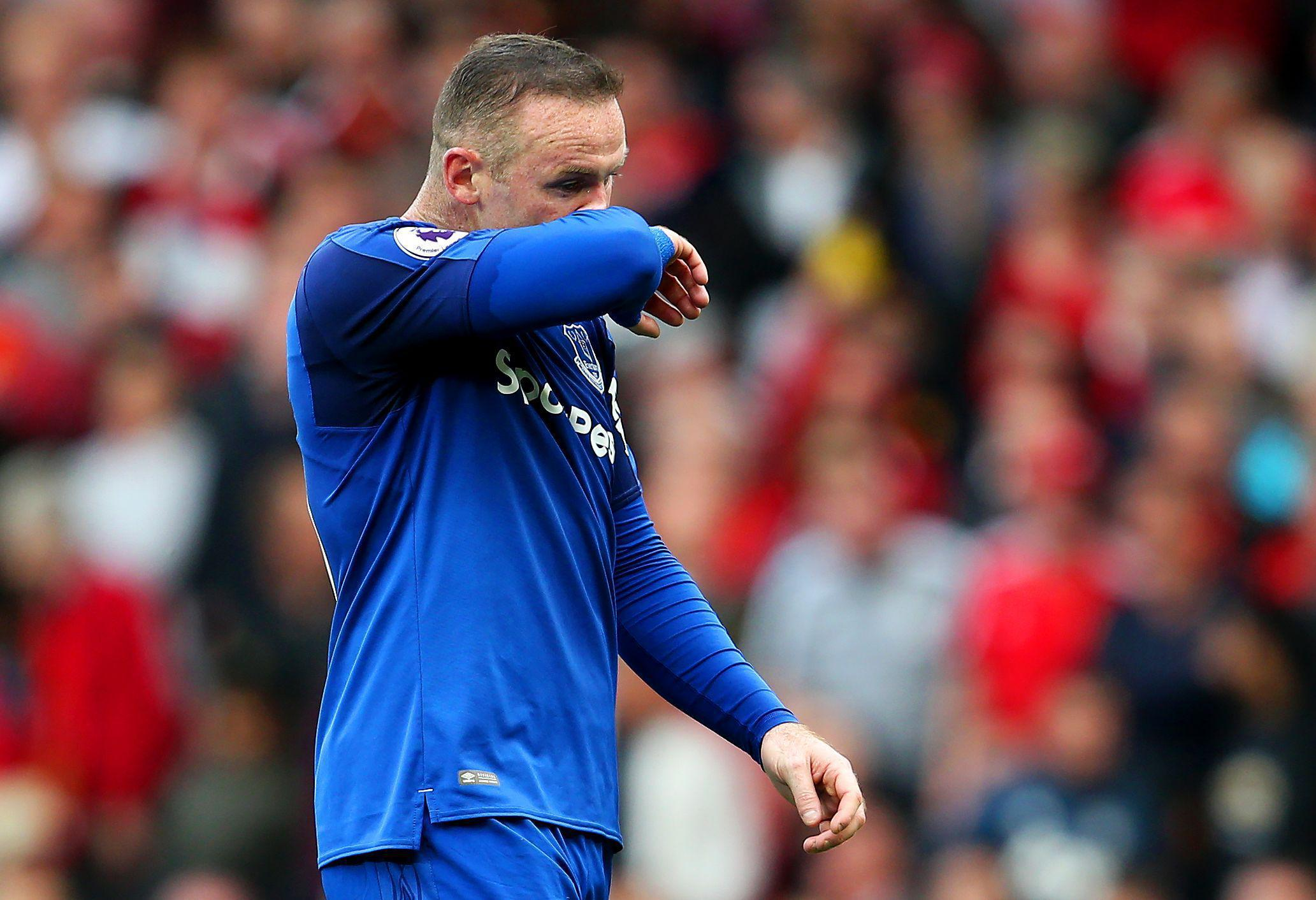 Wayne Rooney endured an horrific return to Old Trafford in a 4-0 thumping