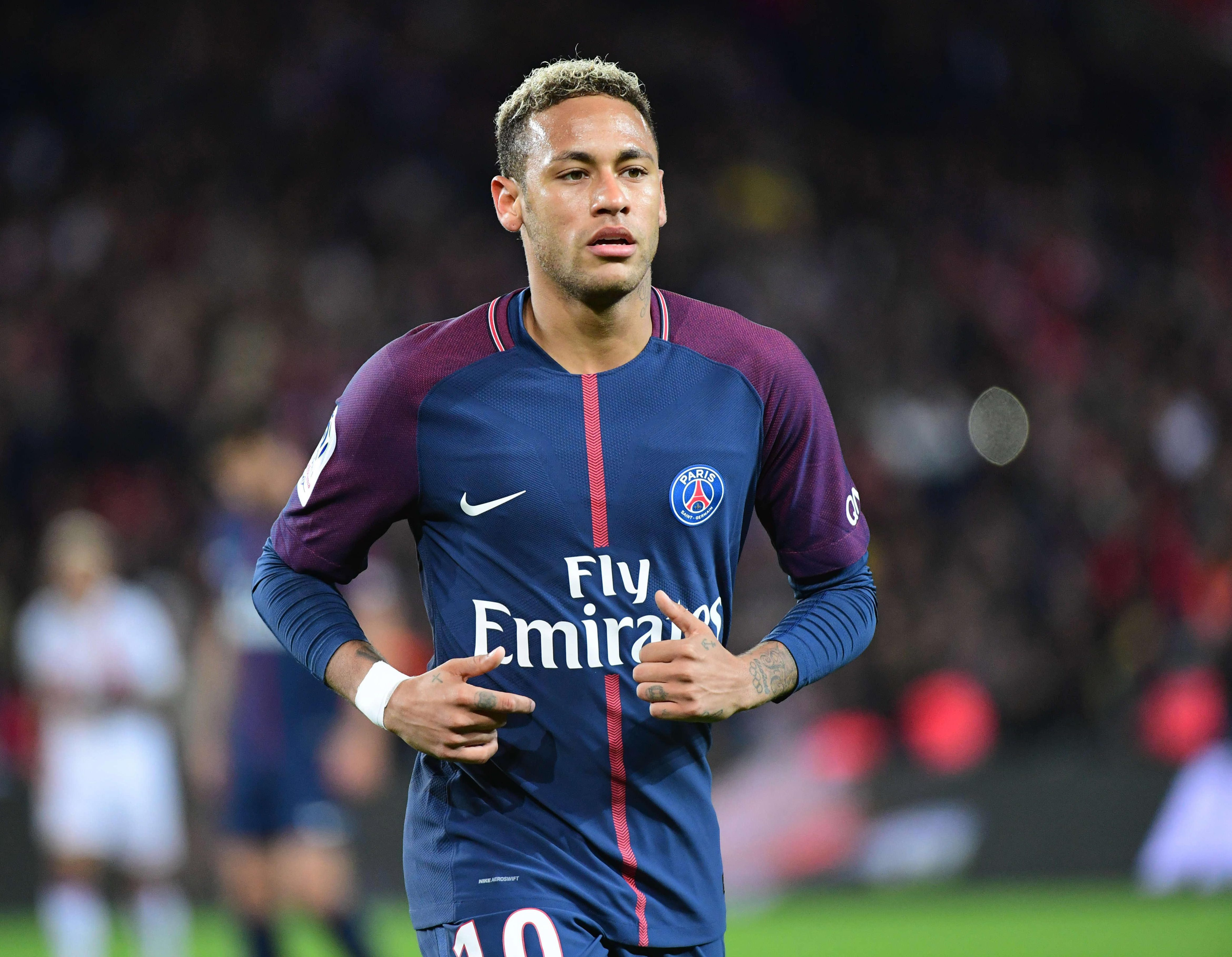 Critics have questioned Neymar's attitude in the past