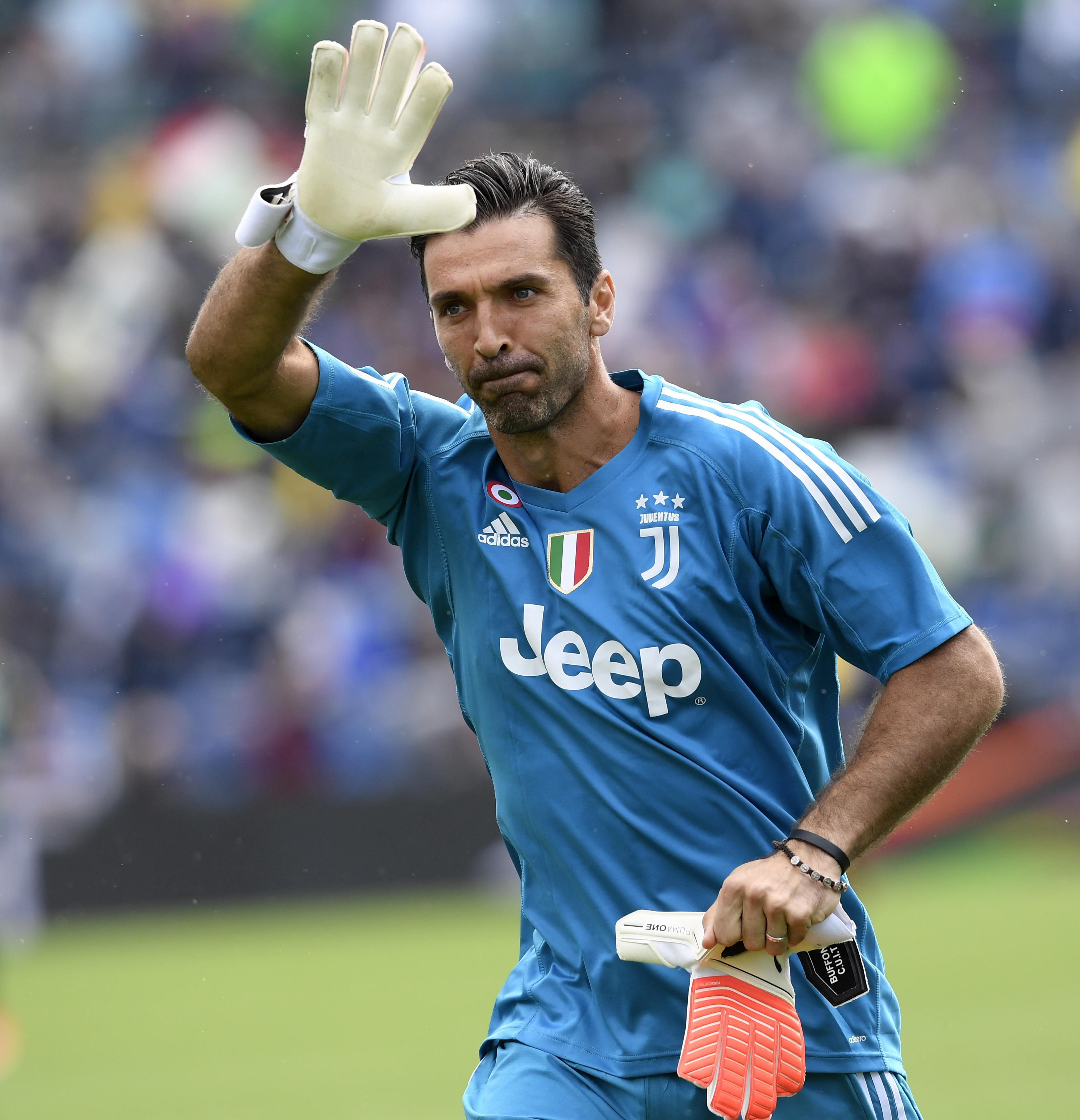 Gigi Buffon is one of three keeper hoping to be bag an award in London
