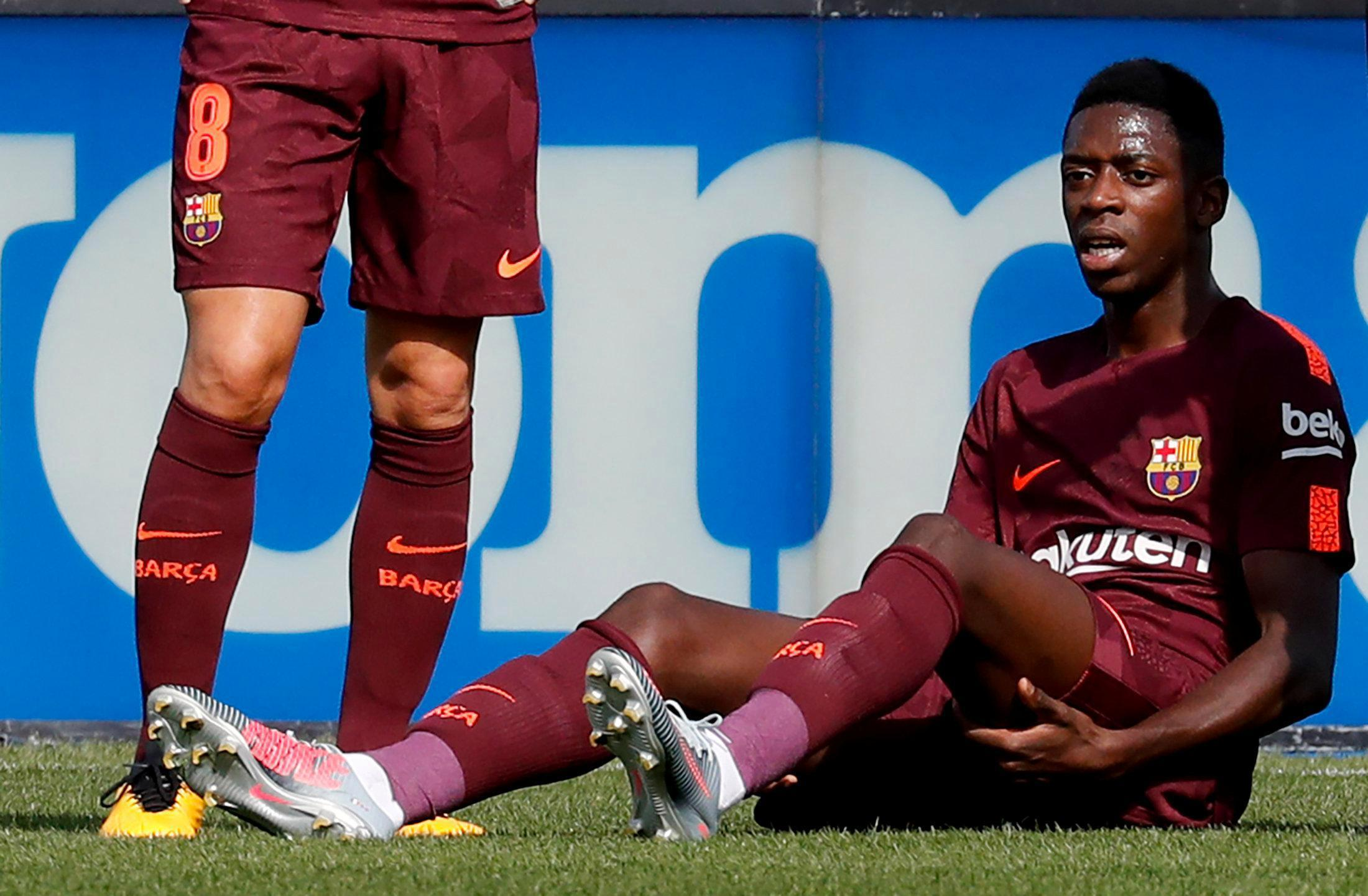 Dembele's injury problems started early