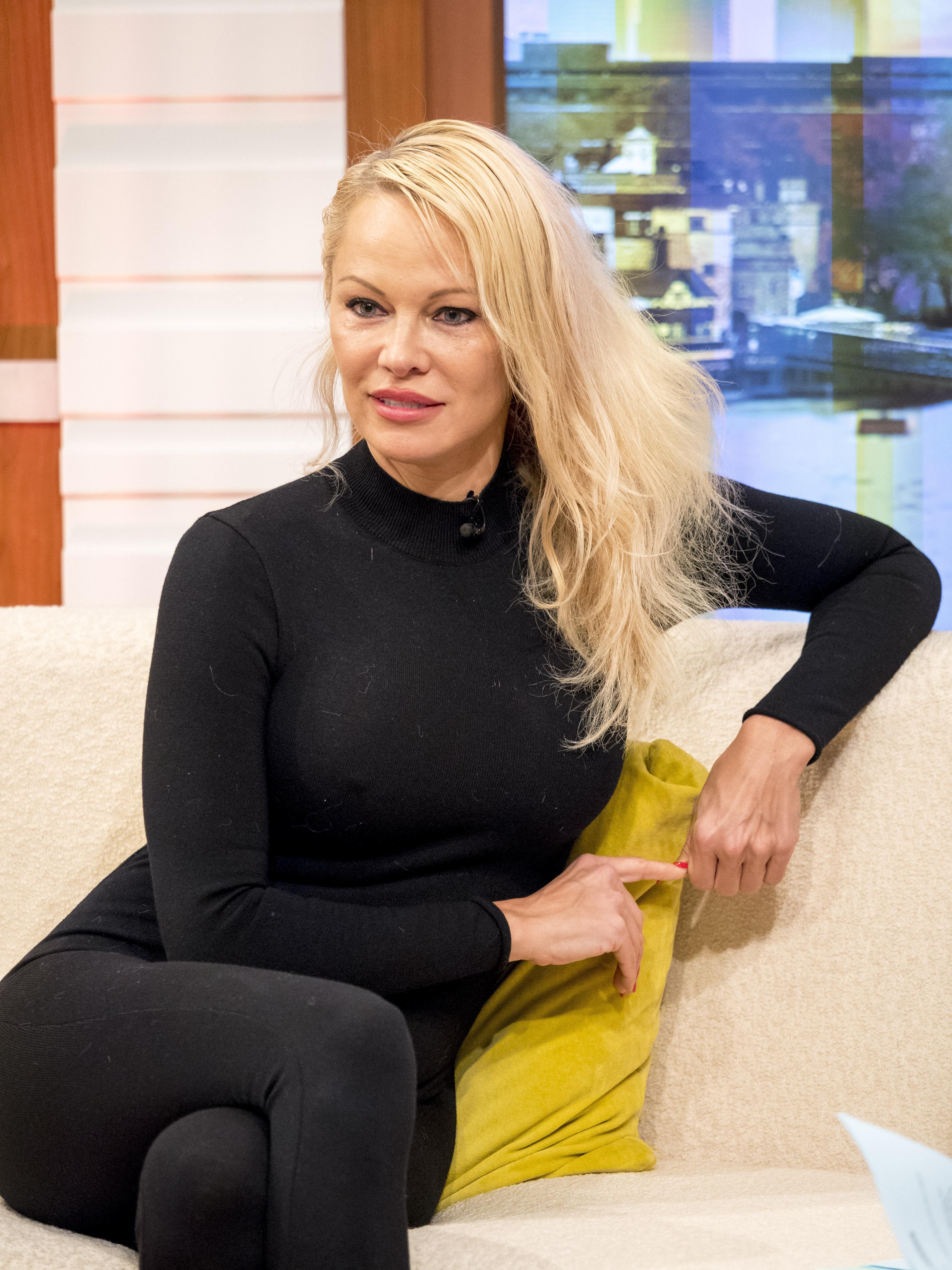 "Pamela Anderson revealed boyfriend Adil Rami is ""jealous"" of her relationship with Wikileaks chief Julian Assange on Good Morning Britain"