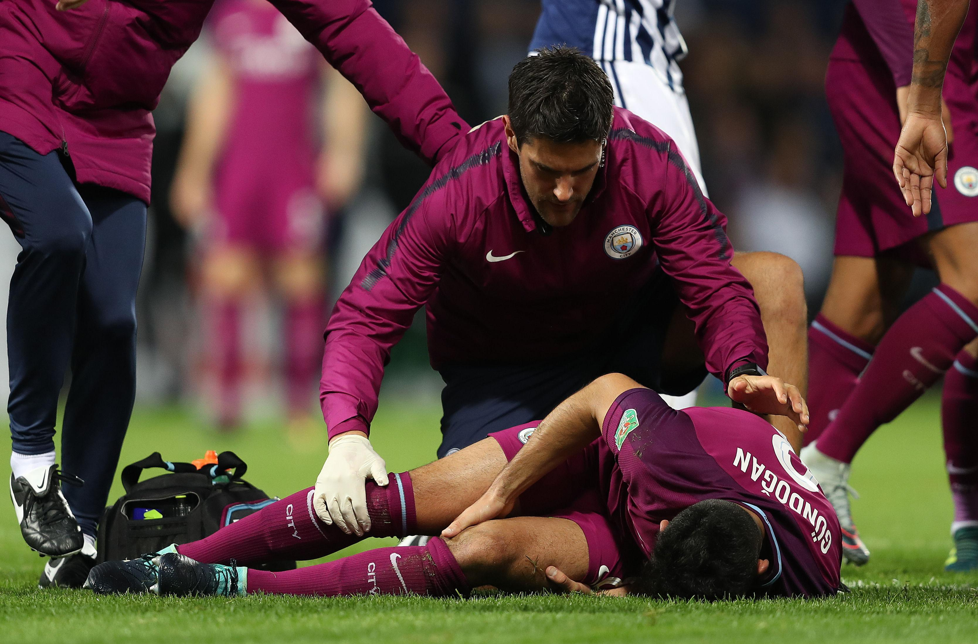 Gundogan's injury didn't look good