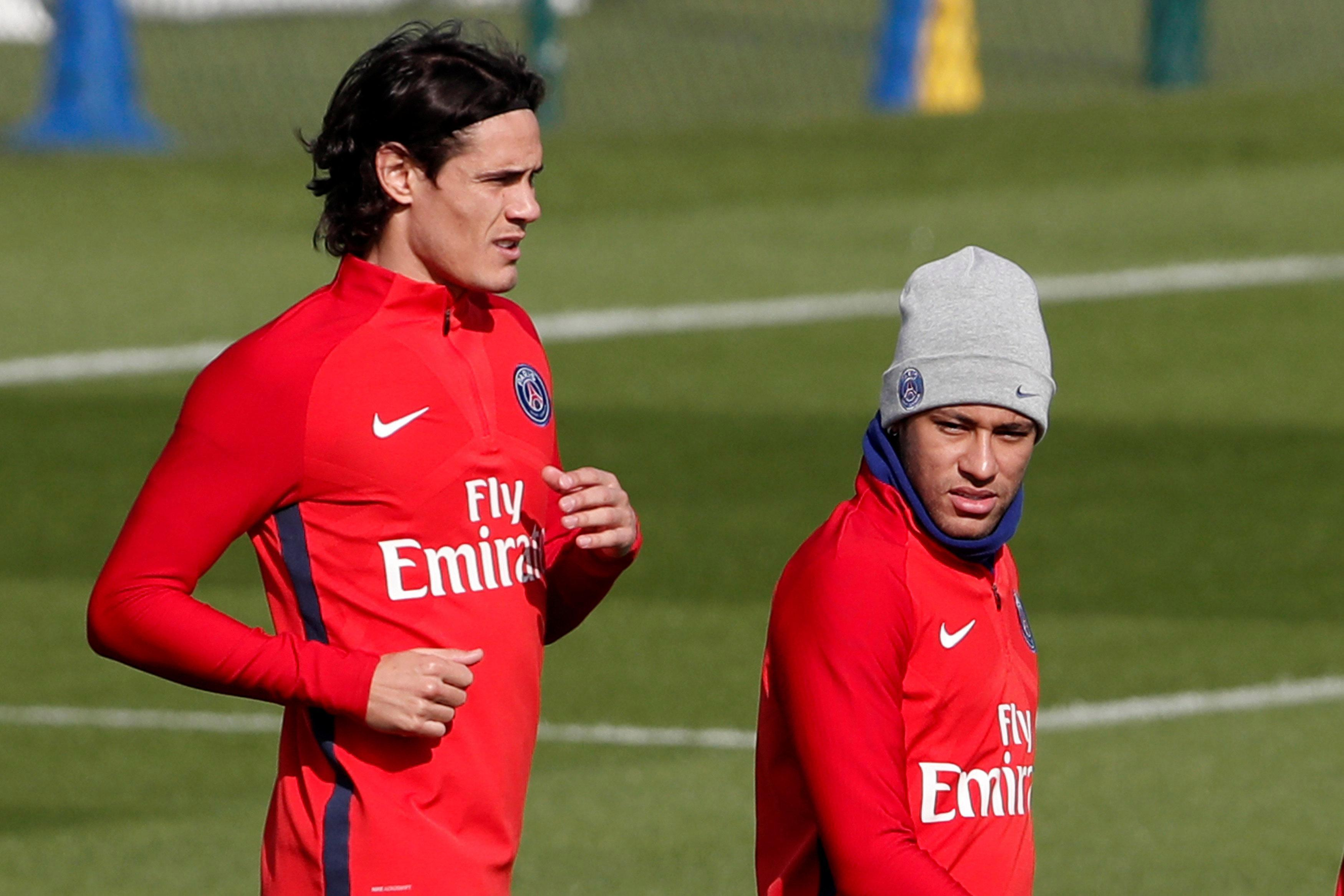 Neymar has reportedly apologised to Edinson Cavani for rowing over a penalty