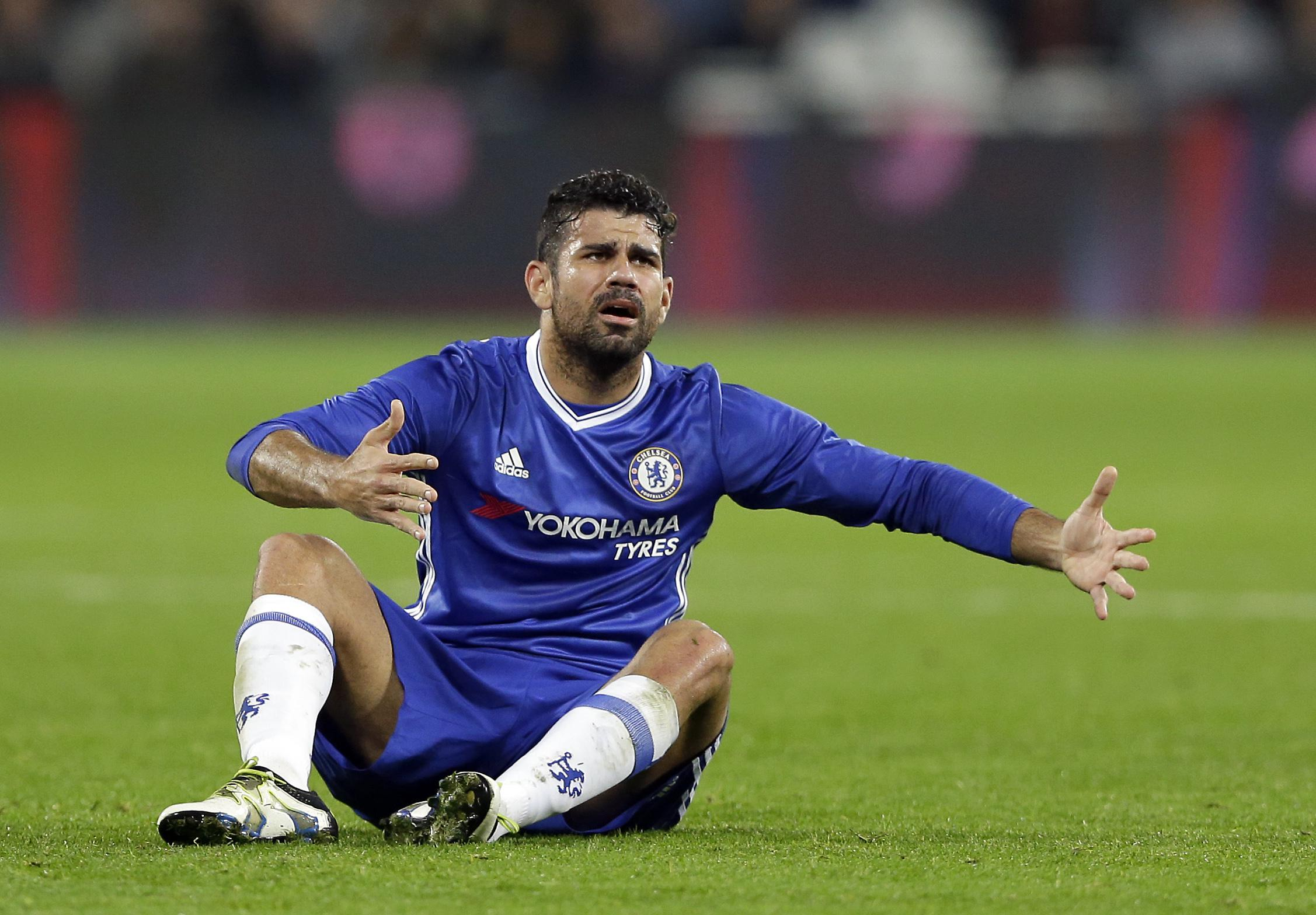 Referees never had a quiet game when Costa was playing