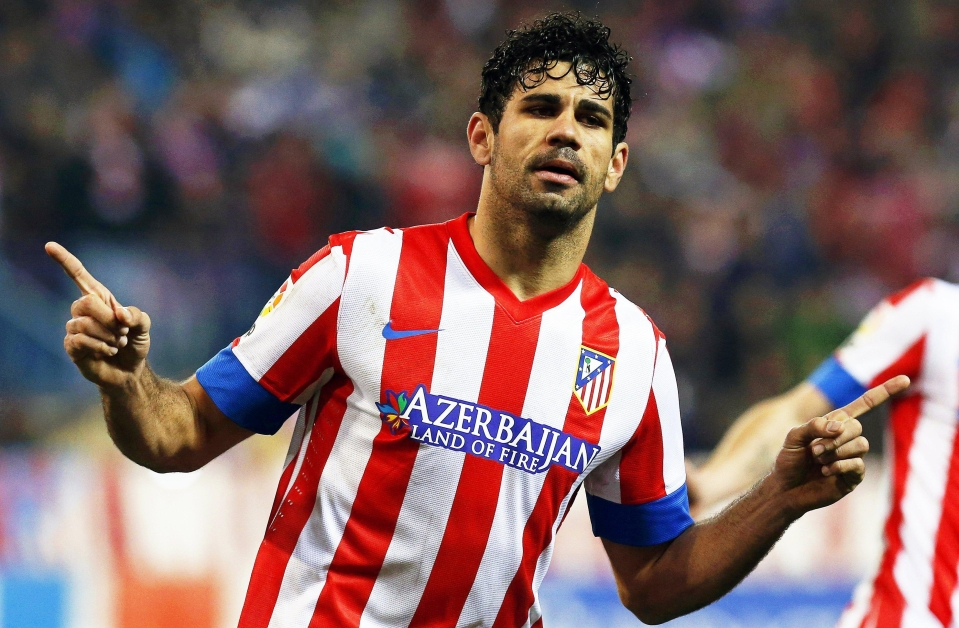 Diego Costa is making the move back to former club Atletico Madrid