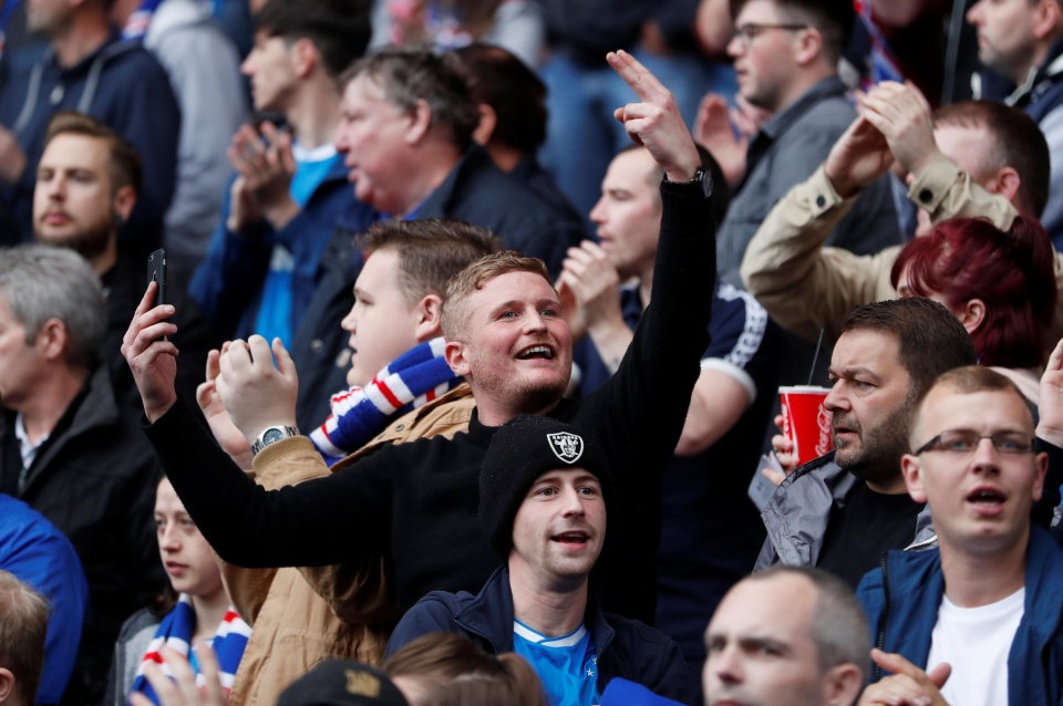 Nothing beats an Old Firm derby