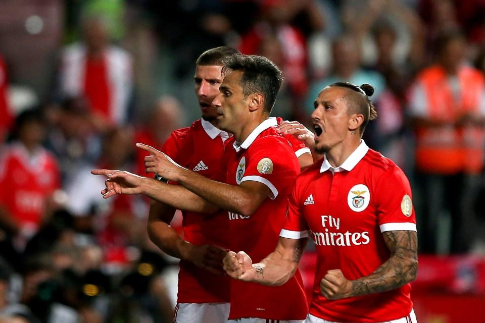 Jonas is Benfica's most potent goal threat