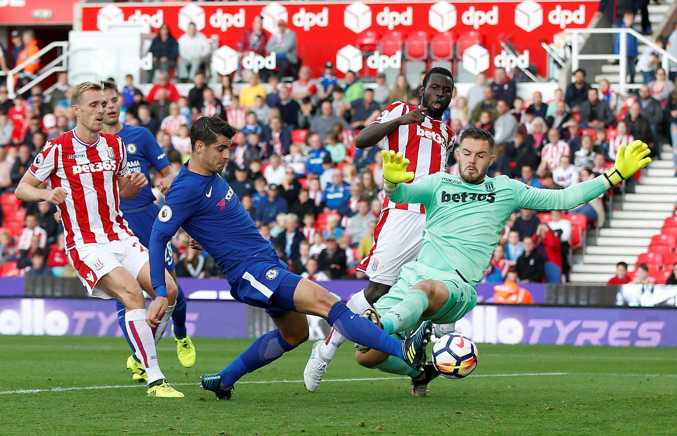 Alvaro Morata has hit the ground running at Chelsea