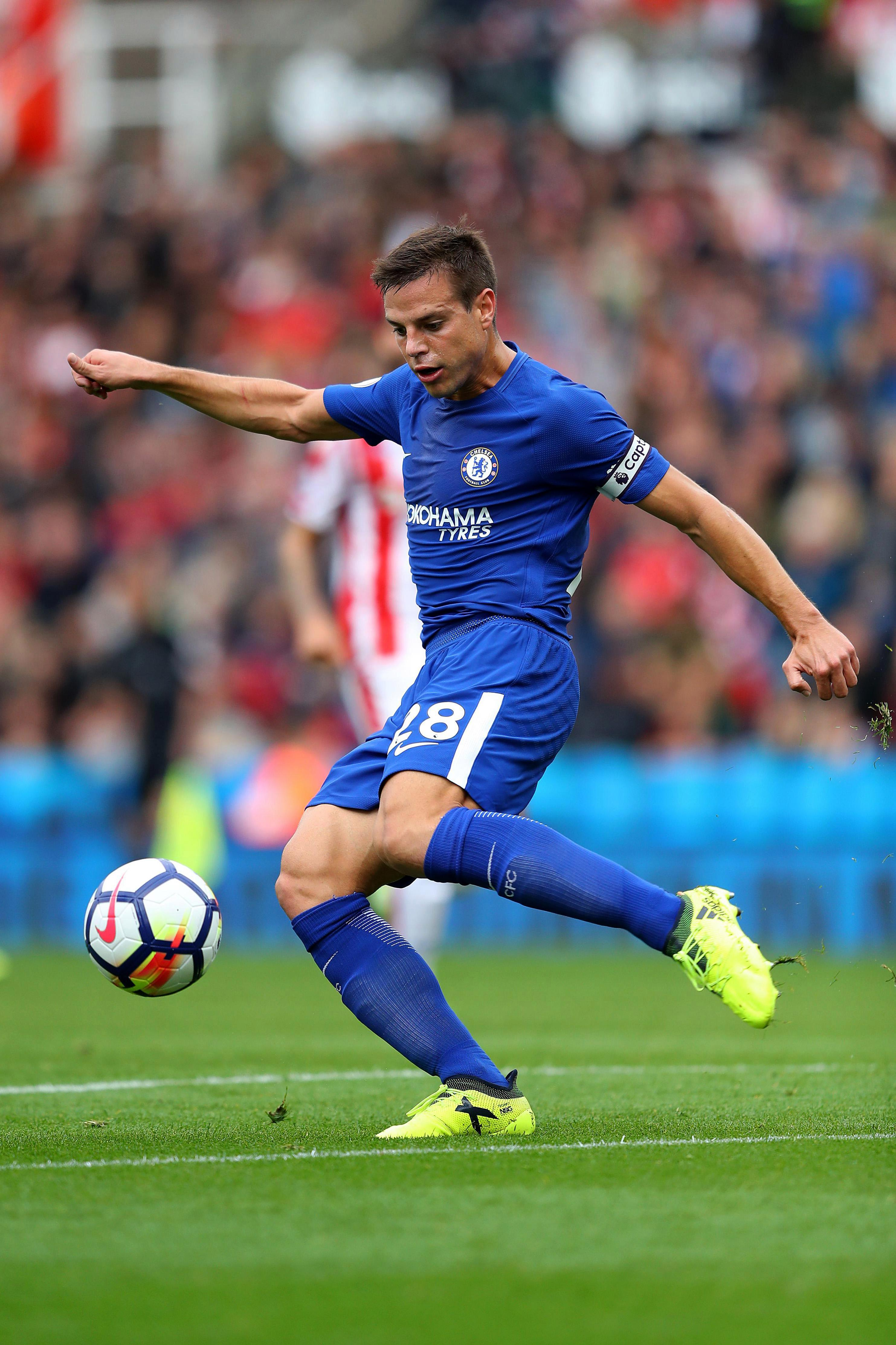 Cesar Azpilicueta has proven to be useful anywhere across the back-four