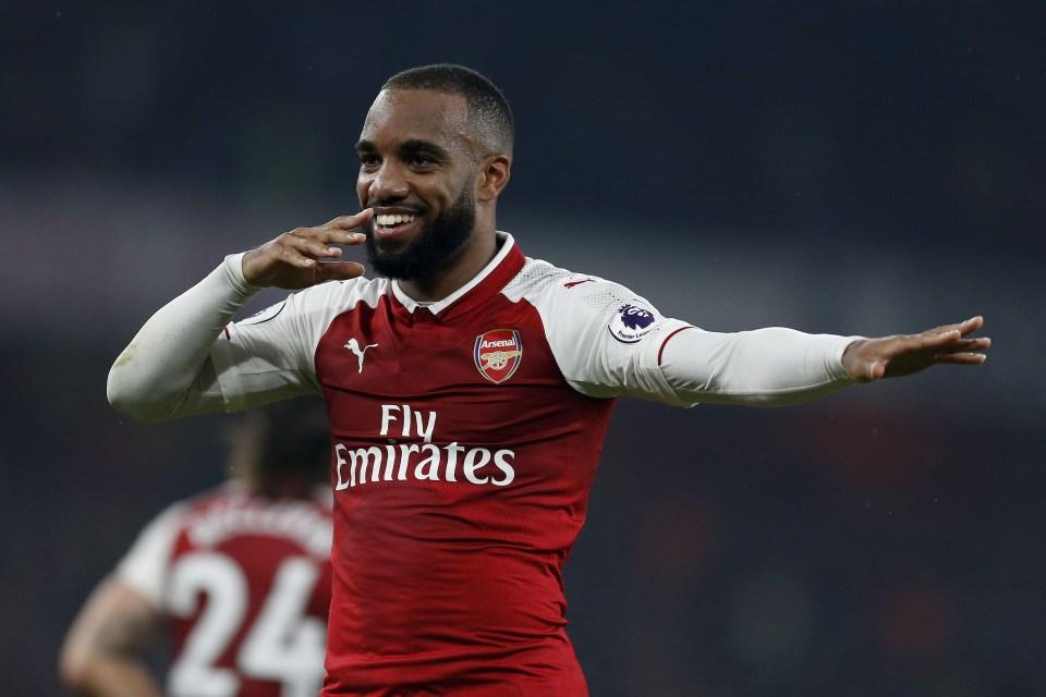 Lacazette has four goals at the Emirates already
