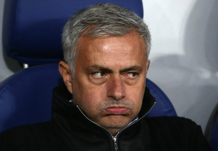 Mourinho's just seen the Palace team-sheet