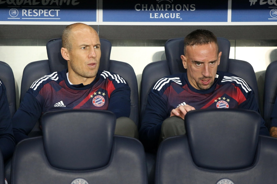 Robben and Ribery are both out of contract next summer