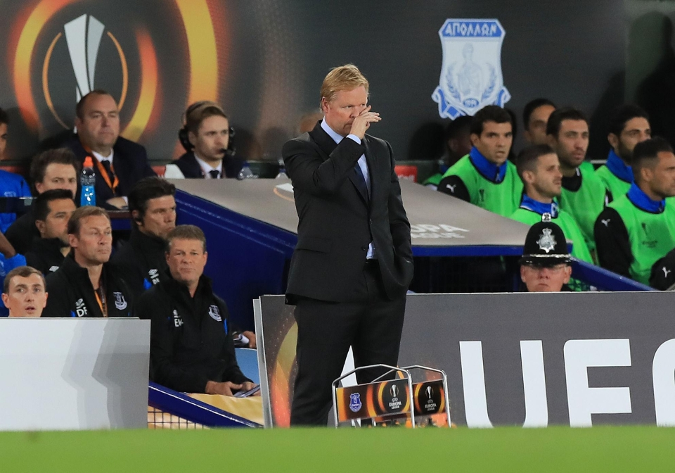 Another bad night for Koeman