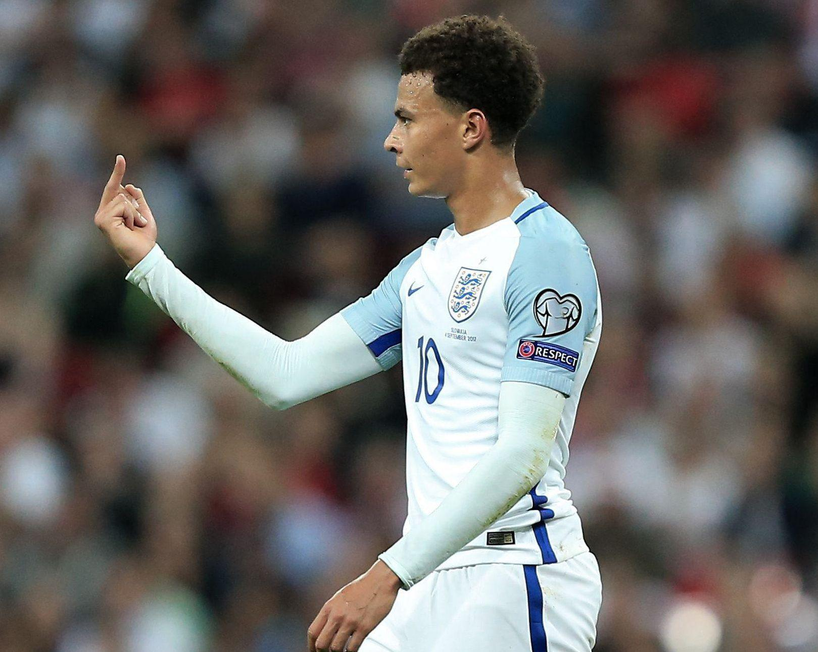 Dele Alli has been backed to overcome his one-match England ban