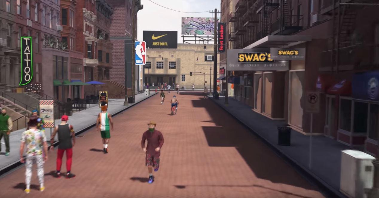 You'll can interact with the hundreds of characters that populate the game world