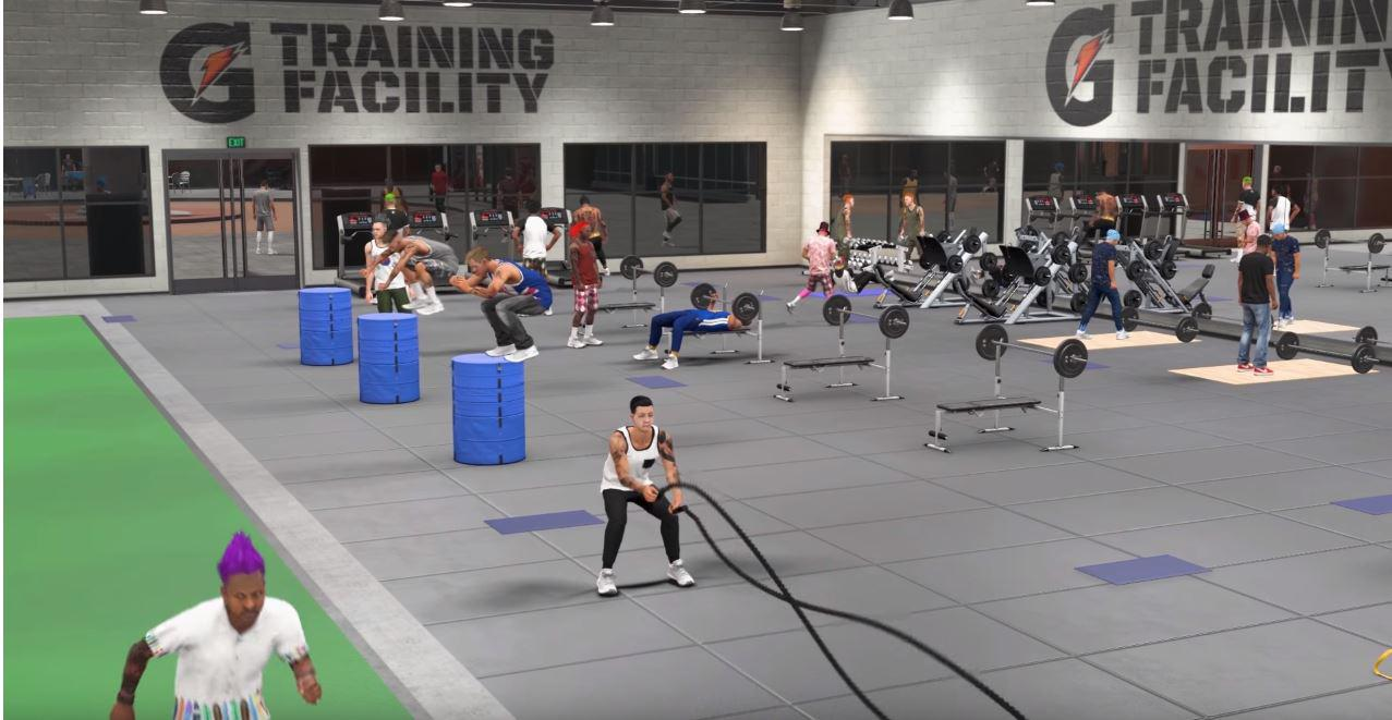 Make sure to keep fit at the gym - much like Grand Theft Auto: San Andreas