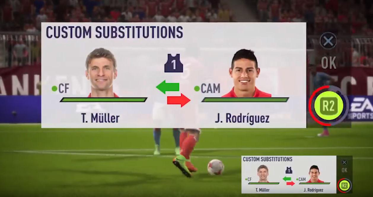 Quick Subs can be used in offline matches – but in Ultimate Team they're nowhere to be seen