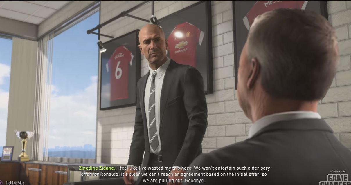 Zidane is fuming at the offer for Ronaldo