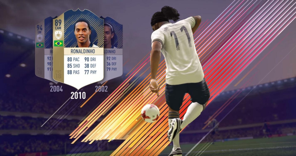 It's incredibly rare that you'll pack one of the ICON cards in Ultimate Team packs