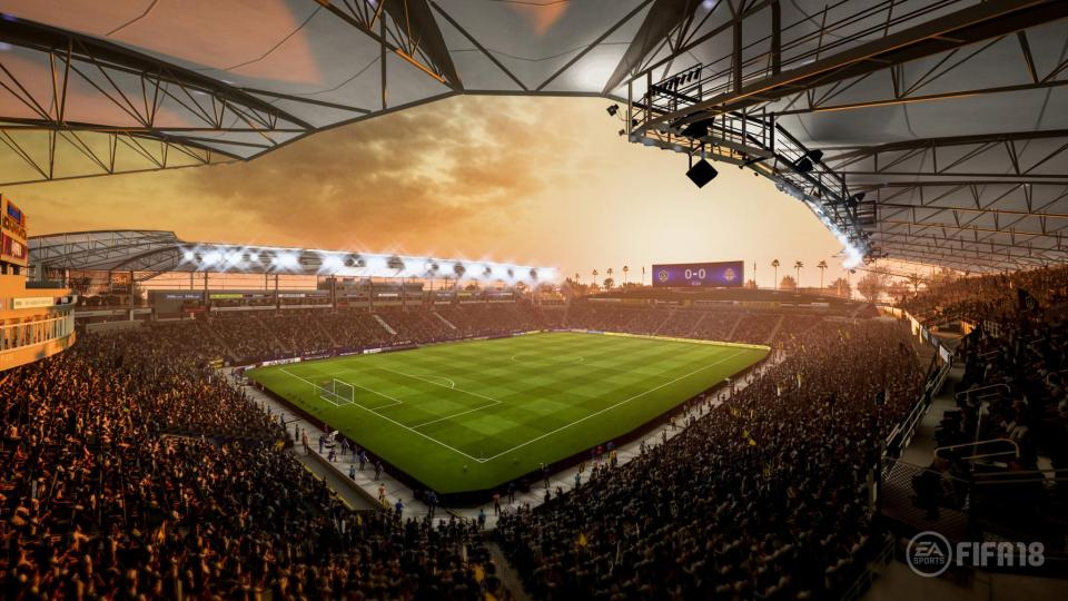 Improved lighting effects allow for more realistic stadiums