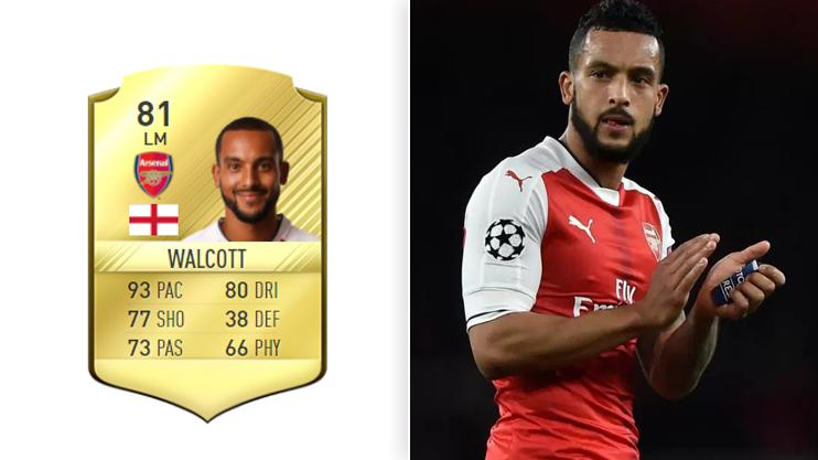 Even with his 93 pace score in last year's game, the Gunner is nowhere to be seen this year
