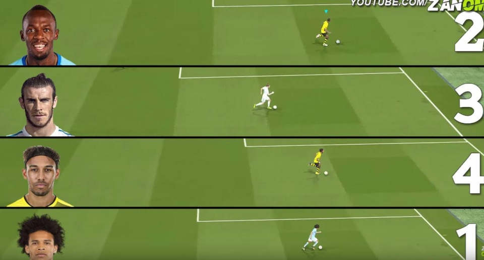 PES 2018: Usain Bolt isn't actually the quickest player on PES