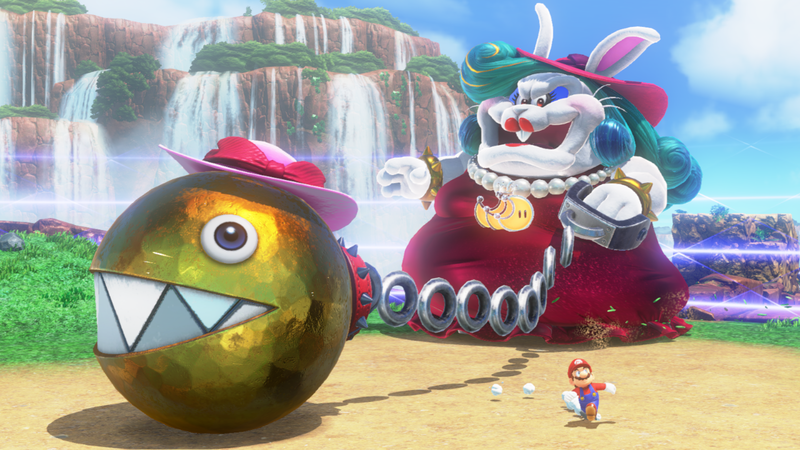 Boss fights are frequent and well thought-out – often requiring you to use Cappy
