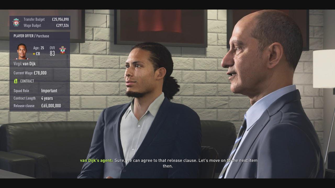 Career mode has been overhauled this year to include real-time transfer negotiations