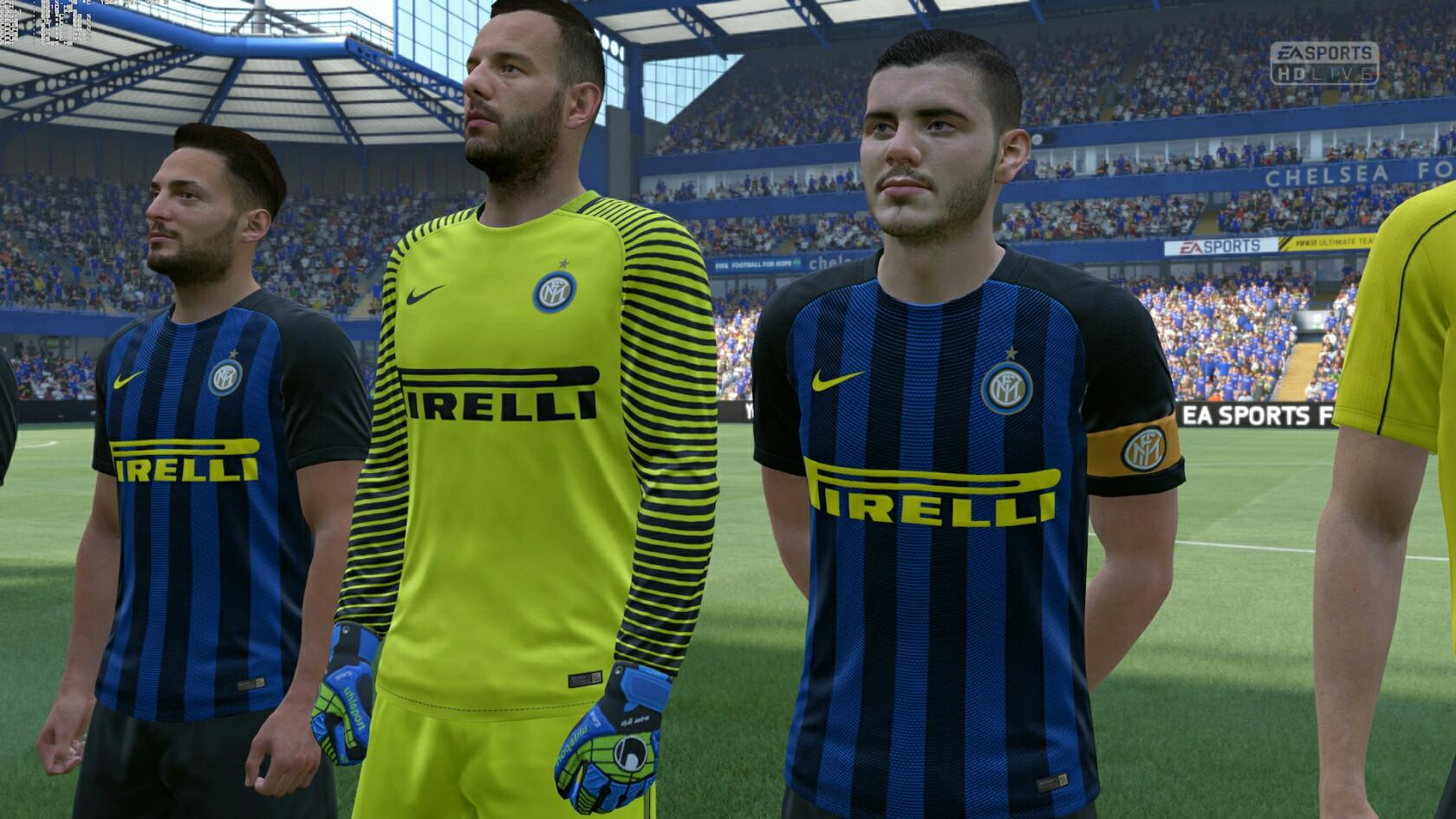 Icardi may be one of the world's best players right now – but he's missing his trademark tattoos in FIFA 18