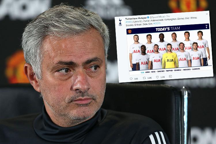 Jose up to his old tricks
