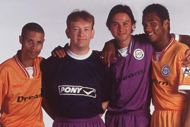 Karl Fletcher (second right) – Dream Team's main man