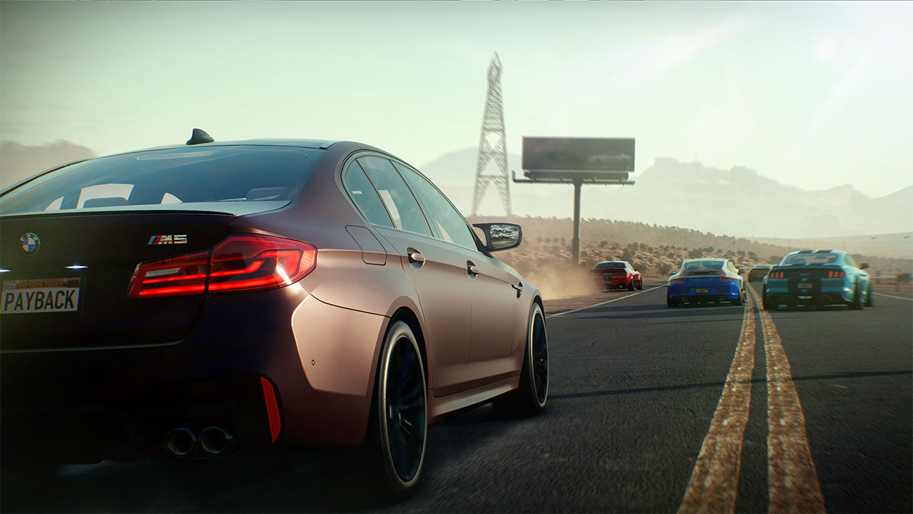 The BMW M5 is just one of the many luxury cars you'll be able to drive in the new game