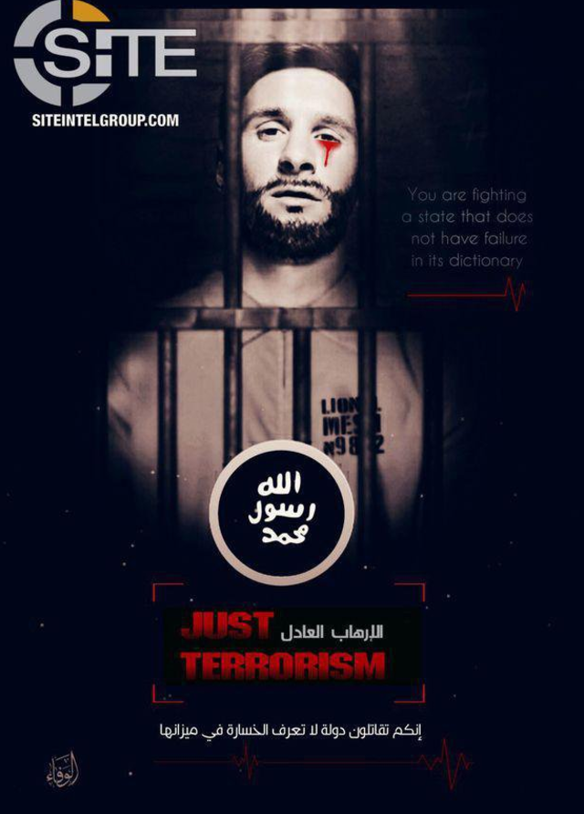 Seriously, ISIS' graphic designer must work seven days a week