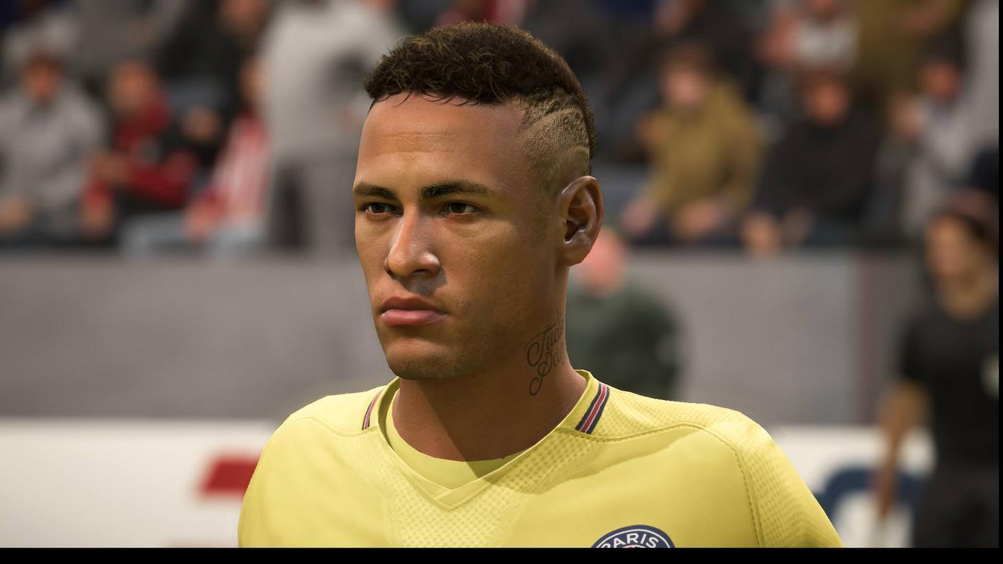Neymar now boasts the haircut he sports in real life